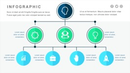 Infographic Templates Collection - Vector, Photoshop, PowerPoint, Google Slides - Modern Decision Tree Infographic Template