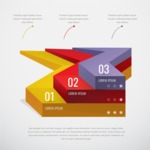 Infographic Templates Collection - Vector, Photoshop, PowerPoint, Google Slides - Vector Infographic Template with Simple 3D Style