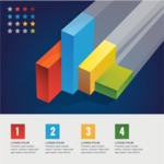Infographic Templates Collection - Vector, Photoshop, PowerPoint, Google Slides - Isometric Infographic Template