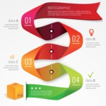 Infographic Templates Collection - Vector, Photoshop, PowerPoint, Google Slides - Realistic Infographic Template with Delivery Box
