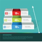 Infographic Templates Collection - Vector, Photoshop, PowerPoint, Google Slides - Modern 3D Style Infographic Template