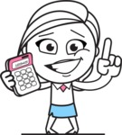 Heidy the Full-of-Ideas Lady - Calculator