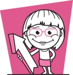 Vicky the Outline Geeky - Shape 5