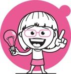 Vicky the Outline Geeky - Shape 6