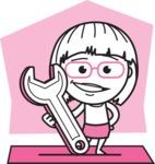 Vicky the Outline Geeky - Shape 9