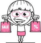 Vicky the Outline Geeky - Sale2
