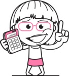 Vicky the Outline Geeky - Calculator