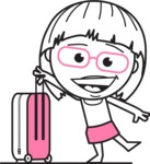 Vicky the Outline Geeky - Travel 1