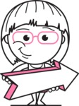 Vicky the Outline Geeky - Pointer 2