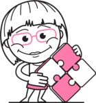 Vicky the Outline Geeky - Puzzle