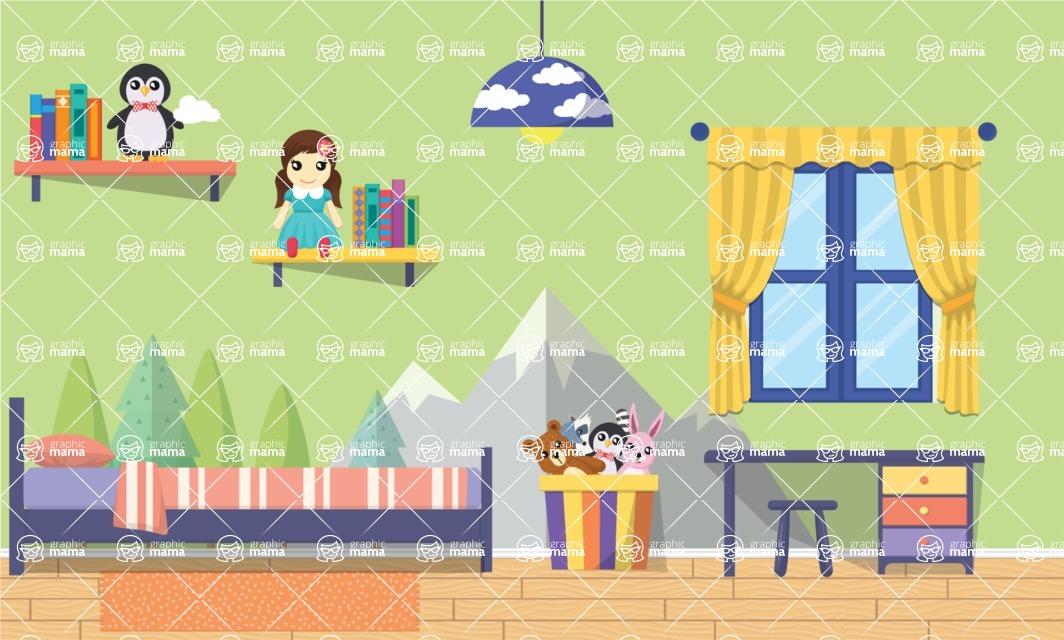 My Wonderland Kid Room - Kids Room 16