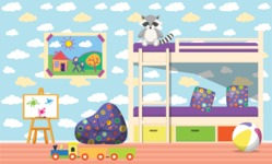 Kid's Room Vector Graphics Maker - Kids Room 10