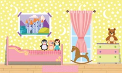 Kid's Room Vector Graphics Maker - Kids Room 14