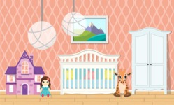 Kid's Room Vector Graphics Maker - Kids Room 17