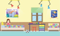 Kid's Room Vector Graphics Maker - Kids Room 19