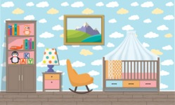 Kid's Room Vector Graphics Maker - Kids Room 2