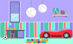 Kid's Room Vector Graphics Maker - Kids Room 20