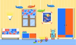 Kid's Room Vector Graphics Maker - Kids Room 21