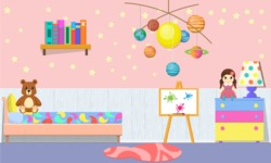 Kid's Room Vector Graphics Maker - Kids Room 23