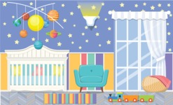 Kid's Room Vector Graphics Maker - Kids Room 3