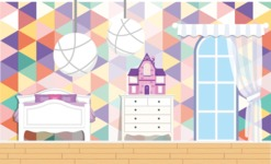 Kid's Room Vector Graphics Maker - Kids Room 7