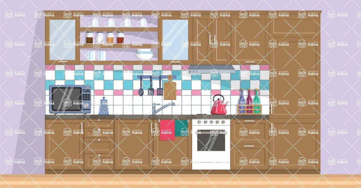 Kitchen Vector Graphic Maker - Kitchen 6