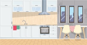 Kitchen Vector Graphic Maker - Kitchen 1