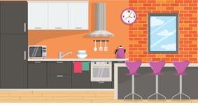 Kitchen Vector Graphic Maker - Kitchen 12