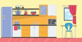 Kitchen Vector Graphic Maker - Kitchen 16