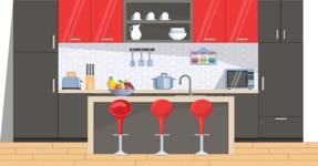 Kitchen Vector Graphic Maker - Kitchen 7