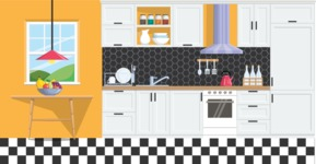 Kitchen Vector Graphic Maker - Kitchen 11