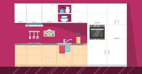 Kitchen Vector Graphic Maker - Kitchen 15