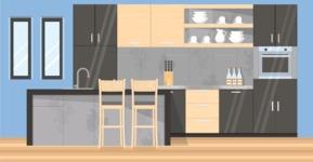 Kitchen Vector Graphic Maker - Kitchen 2