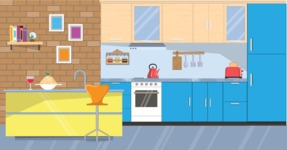 Kitchen Vector Graphic Maker - Kitchen 20