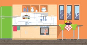 Kitchen Vector Graphic Maker - Kitchen 10