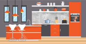 My Dream Kitchen Interior - Kitchen 17