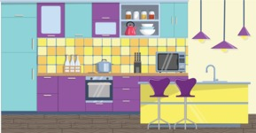 Kitchen Vector Graphic Maker - Kitchen 25