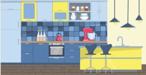 Kitchen Vector Graphic Maker - Kitchen 8