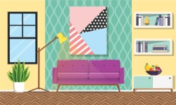Living Room Vector Graphic Maker - Living Room 10