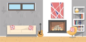 Living Room Vector Graphic Maker - Living Room 11
