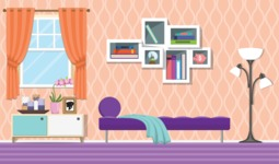 Living Room Vector Graphic Maker - Living Room 15