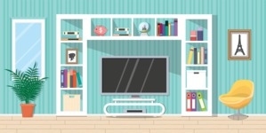Living Room Vector Graphic Maker - Living Room 21