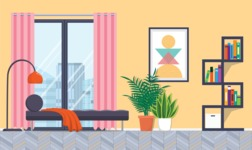 Living Room Vector Graphic Maker - Living Room 25