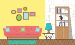 Living Room Vector Graphic Maker - Living Room 8