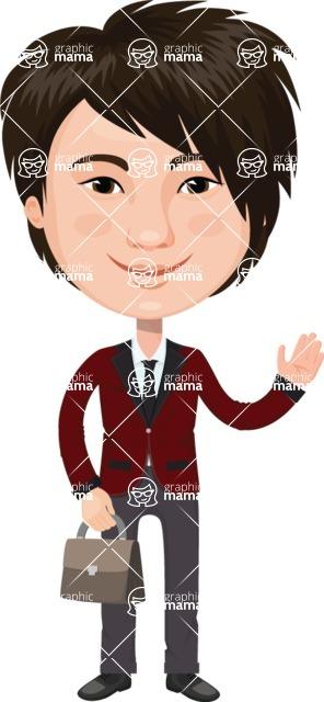Japan - Traditional and Modern Looks - Japanese Stylish Businessman