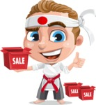 Combo The Little Karate Boy - Sale