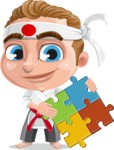Combo The Little Karate Boy - Puzzle