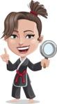 Karate Woman Cartoon Vector Character AKA Katya - Search
