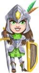 Knightalia Beauty-Mark - Shield and sword 2
