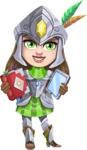 Knightalia Beauty-Mark - Book and tablet